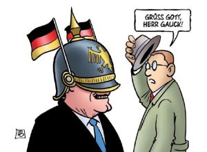 Stahlhelm ab, Herr Gauck!