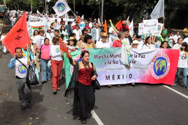 Statement of support for students and protesters in Mexico