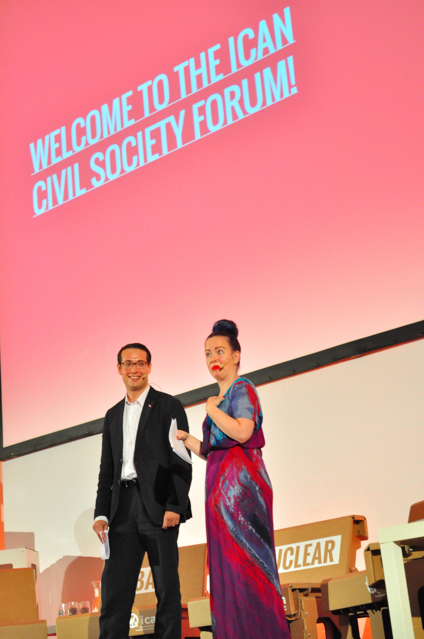 ICAN civil  society forum