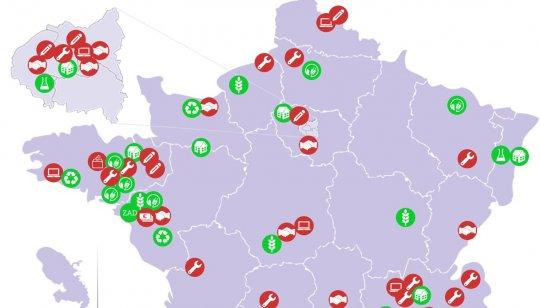 El mapa de Francia de alternativas: 89 revoluciones locales para un cambio global