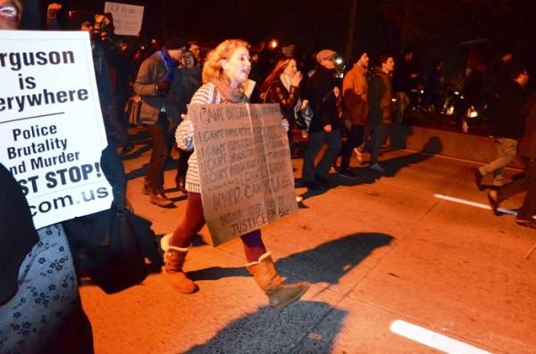 [Reportage photo] New York – Marche contre le système