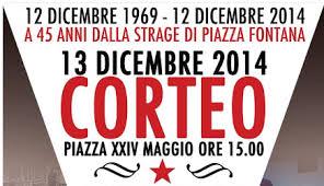 A 45 anni dalla strage di Piazza Fontana, contro il fascismo di ieri e di oggi