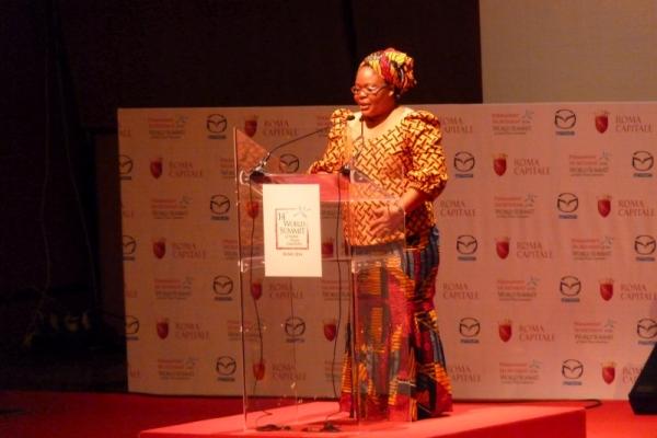leymah gbowee summit premi nobel per la pace roma 2014