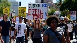 Ezell Ford è stato colpito tre volte dalla polizia di Los Angeles