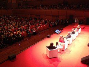 Erster Tag des XIV. Gipfeltreffen der Friedensnobelpreisträger in Rom