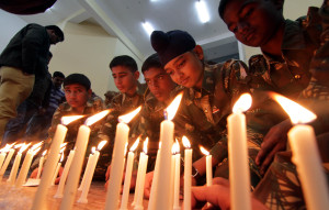Jammu children pray for Peshawar military school victims