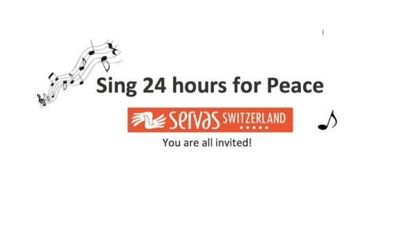 Sing 24 hours for Peace in Zürich