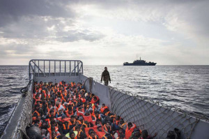 'Urgent European Action' needed to protect migrants at sea