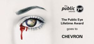 Chevron erhält Public Eye Lifetime Award