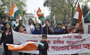 Northeast India celebrates R-Day defying militant's threat