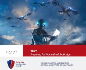 """Preparandosi alla guerra nell'era dei Robot"""