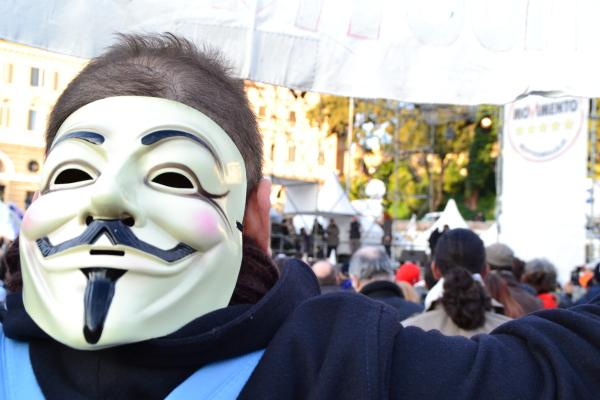 Notte dell'onestà: la voce della piazza
