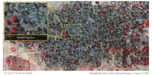 Amnesty: danni di attacco Boko Haram visti dal satellite