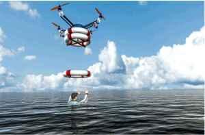 Drones para socorrer a bañistas en peligro