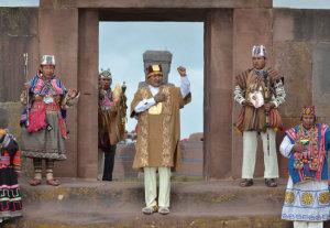 Evo Morales: es tiempo del Pachakuti, de reafirmar la identidad y la revolución democrática cultural