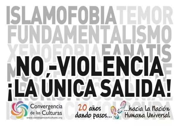 Llamamiento a los pueblos: ¡La No-Violencia es la única salida!