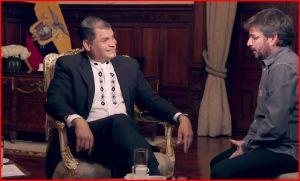 Interview à Rafael Correa «…ici en Équateur, nous défendons les intérêts des gens, et non ceux du capital financier»