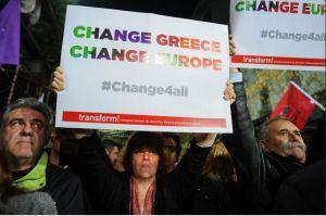 Pour la Grèce, changer l'Europe