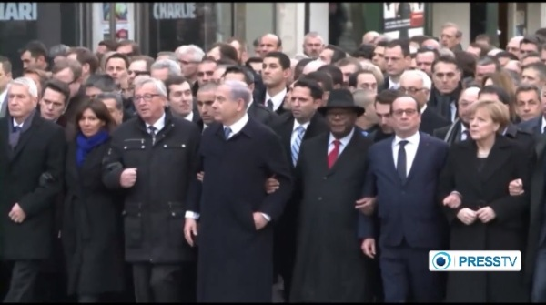 """RWB condemns presence of """"predators"""" in Paris march, calls for solidarity with """"all Charlies"""""""