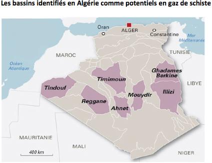 Algérie : contestation sociale impressionnante contre les gaz de schiste