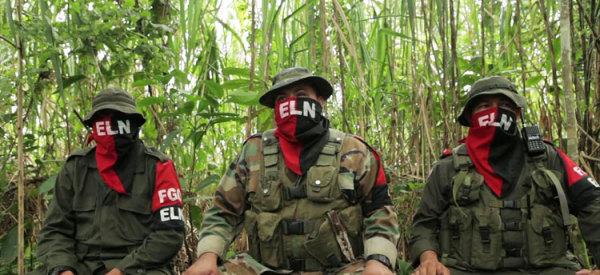 Guerrilla colombiana del ELN estaría dispuesta a dejar las armas