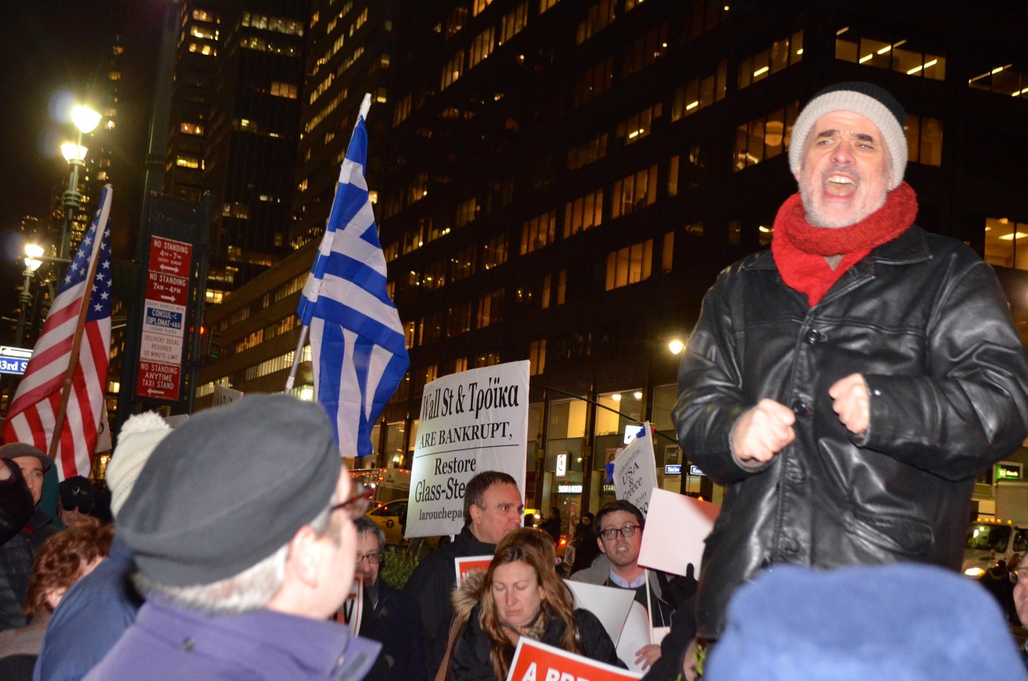 new york rally #GreeceSolidarity