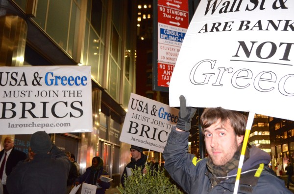 #‎GreeceSolidarity‬ rally in NYC  Wednesday, February 11 in front of the  Delegation of the European Union to the United Nations