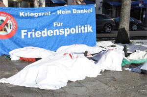 Start der Proteste gegen die Münchner Sicherheitskonferenz