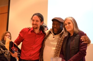 Pablo Iglesias of Podemos in conversation with Amy Goodman