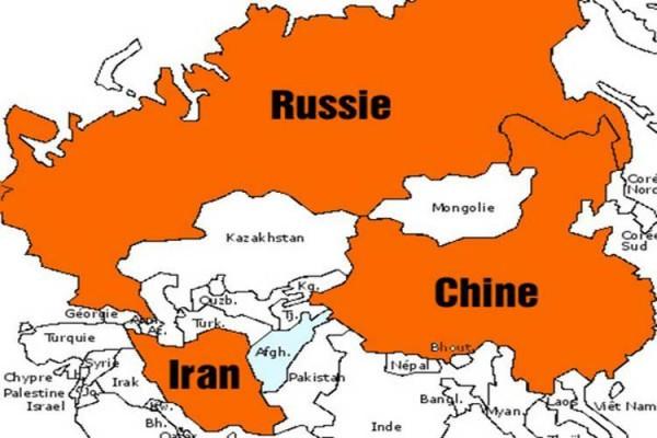 En 2015, tout gravitera autour de l'Iran, de la Chine et de la Russie