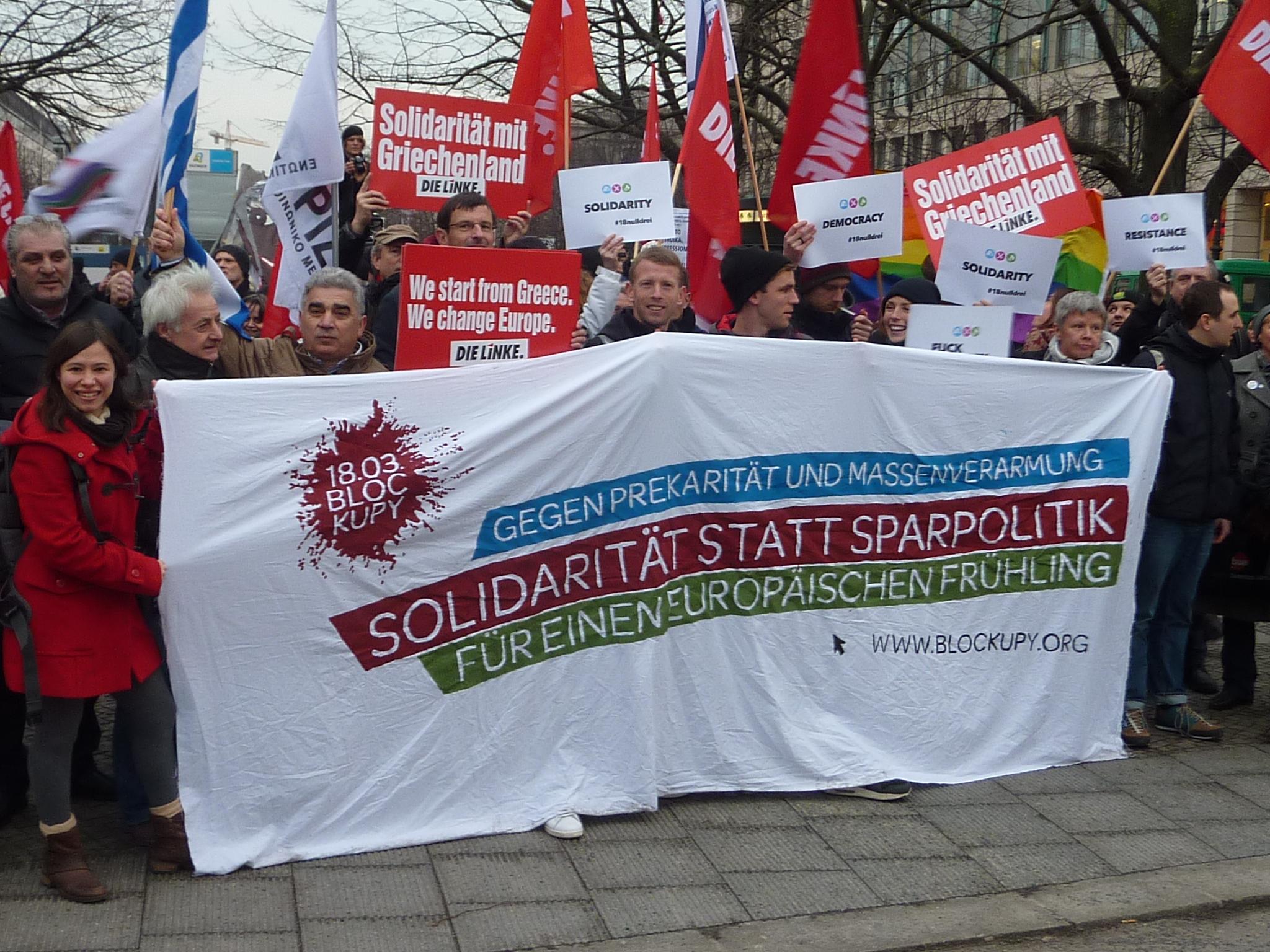 Grecia lotta anti-austerity Europa