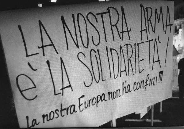 """Auf der Straße für Griechenland: """"Unsere Waffe ist die Solidarität"""""""