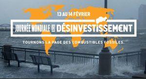 Journée mondiale de désinvestissement (des combustibles fossiles) les 13 et 14 février 2015