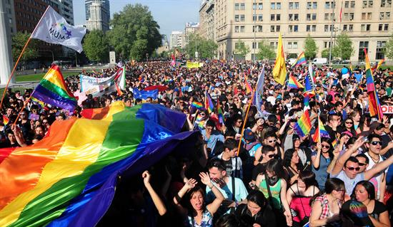 Chile's LGBT movement wins historic victory with approval of civil unions