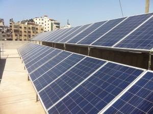 Gaza: l'ospedale al 100% solare