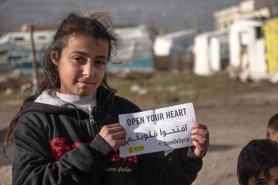 #Opentosyria rifugiati siriani