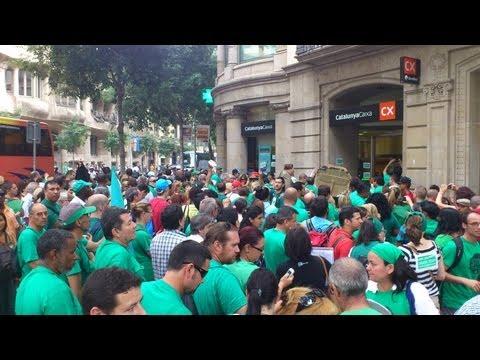 Cataluña vive una situación de emergencia social