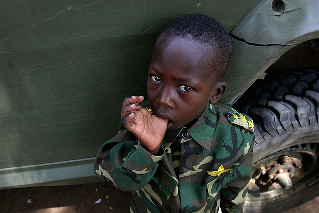12 febbraio giornata bambini soldato