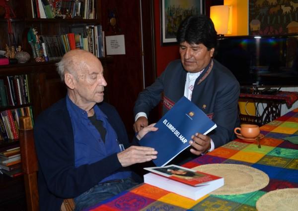 E' partito Eduardo Galeano