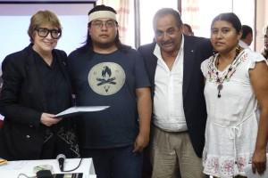 La ministra Parodi recibió en Jujuy aportes de los pueblos originarios para la Ley Federal de las Culturas
