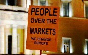 People over markets