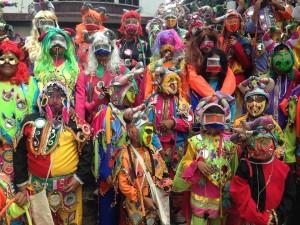 La Tupac Amaru desenterró al Pujllay en una ceremonia llena de alegría
