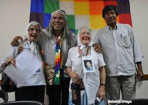 Cansados de las injusticias sobre los pueblos indígenas