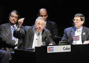 Cuban President Raul Castro Ruz at CELAC Summit