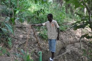 Proyecto comunitario gana al cambio climático en Trinidad