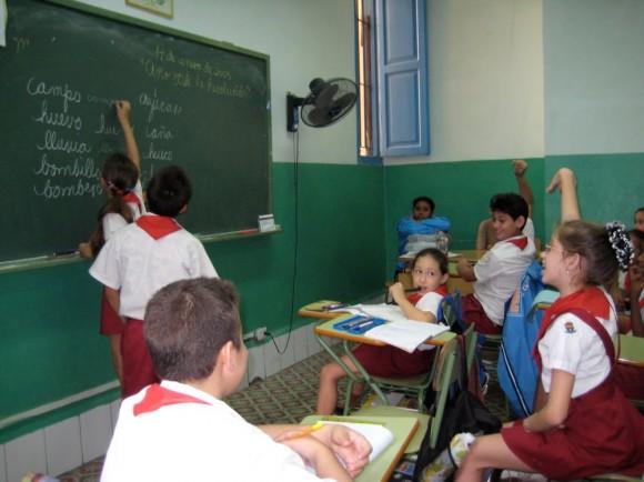Banque mondiale: Cuba est le pays au monde qui investit le plus dans l'éducation
