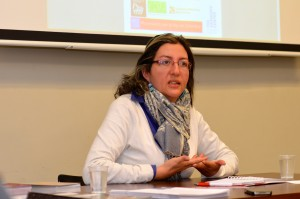 Sonia Ines Goéz Orrego on a speaking tour in the U.S. to share her experience building peace in Colombia