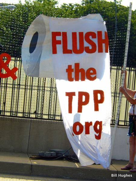 Flush the TPP