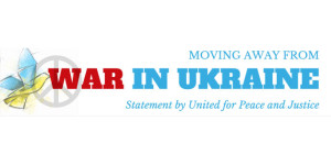 Moving away from war in Ukraine