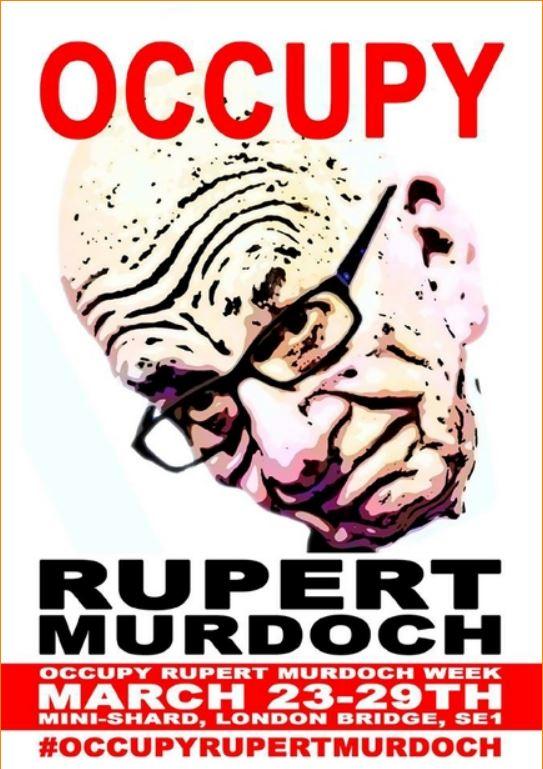 Occupy Rupert Murdoch Week Closes Entrance to News HQ